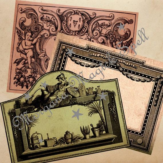 Vintage Mason Jar Labels - Printable