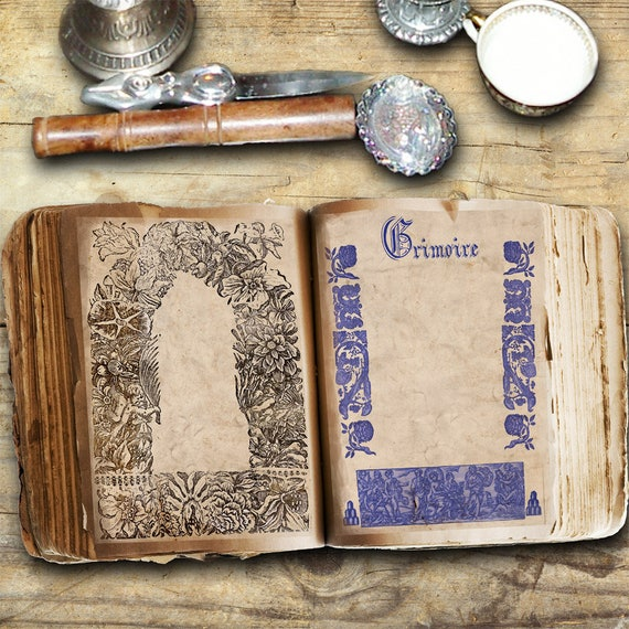 Medieval Book of Shadows - Blank Book of Shadows Pages