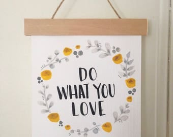 Do What You Love Hanging Sign (small)