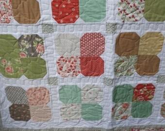 modern lap quilt, sofa quilt
