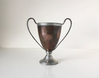 Antique Copper Trophy Federal Olympic Indoor Games 1909