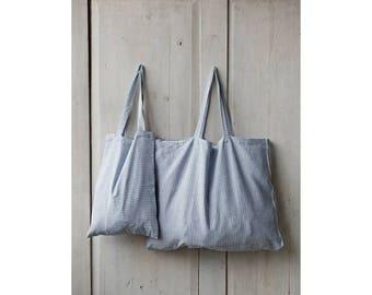 Womens Bag, Large Bag, Tote Bag, Handmade Bag, Blue Bag, Beach Bag, Summer Bag, Shoulder Bag, Womens Tote, Blue Tote Bag, Linen Bag