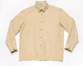 Wool Button Up Shirt