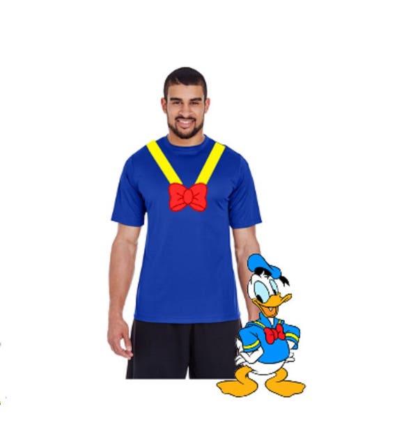 Donald Duck Shirt Donald Duck Costume Donald Duck Run Disney  Donald Duck Shi...