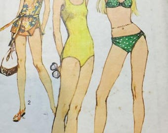 Simplicity Bathing Suits 9321