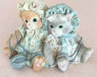 """Calico Kittens Enesco """"You're Always There when I Need You"""" 1992"""