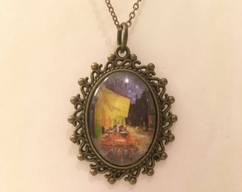 Van Gogh Cameo Necklace
