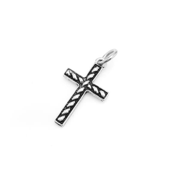 Cross Charm / Pendant - Add a Charm to a Custom Charm Bracelets, Necklaces or Key Chains - Read Description for More Info - Nickel Free