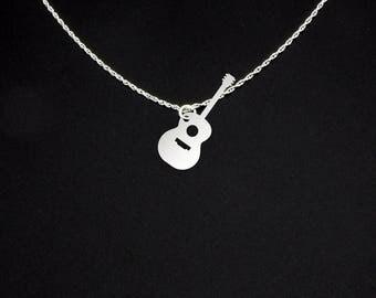 Guitar Necklace - Music Teacher Gift - Guitar Teacher Gift - Guitar Teacher Necklace - Music Teacher Necklace - Acoustic Guitar