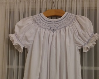 Hand Smocked Bishop Dress