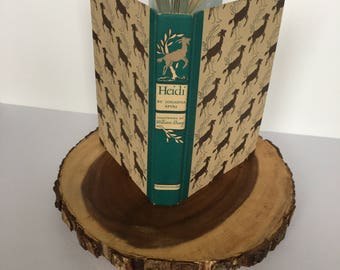 Heidi by Johanna Spyri, SPECIAL EDITION, Vintage 1945, Grosset & Dunlap, Illustrated (Dust Jacket Included) Free Shipping!