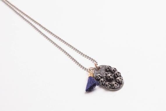uniquely handmade handcarved bronze skull necklace chain men women luckyheadz memories present jewelry