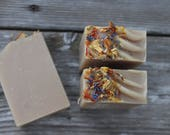 on sale |WILDFLOWER HONEY SOAP | Handmade | Cold Process Soap | Artisan Soap | Bar Soap | Honey Soap | Weddings | Showers | Handcrafted
