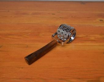 Vintage Bakelite meat tenderizer midcentury modern kitchen tool gadget cutlery
