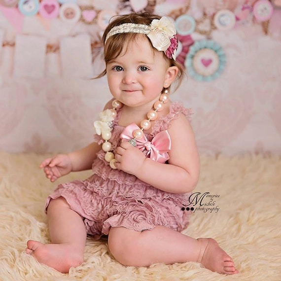 1st Birthday Girl Outfit Cake Smash Outfit Girl Baby Girl Photo