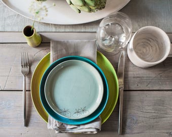 Earthenware Snack Plates