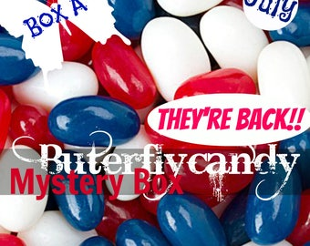 "Buterflycandy July Mystery Box A | ""RED WHITE & BLUE"" 