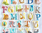 Magnetic Animal ABC alphabet for kids *Limited Edition Print*