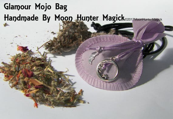 Glamour Mojo Bag Moon Hunter Mojo Hand Made Illusion Amulet Charm Talisman
