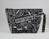Chemistry Makeup Bag - Accessory - Cosmetic Bag - Pouch - Toiletry Bag - Gift