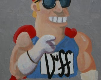 I Want You (To Grab a Brew) Duffman - Fine Art Print