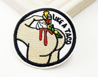 Like a Taco Buttcheeks Patch (1 Piece)