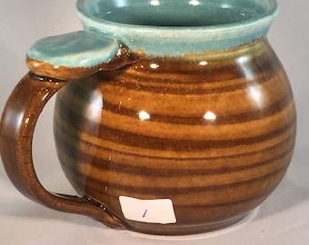 Coffee cup, coffe mug, pottery mug