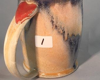 Sacred Heat Coffee Cup, valentine mug, pottery mug