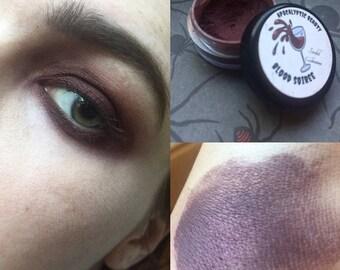 Blood Soiree - metallic burgundy eyeshadow