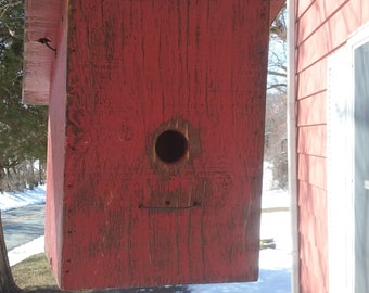 Shanty Top Birdhouse