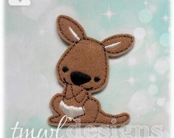 """Kangaroo Feltie Digital Design File - 1.75"""""""