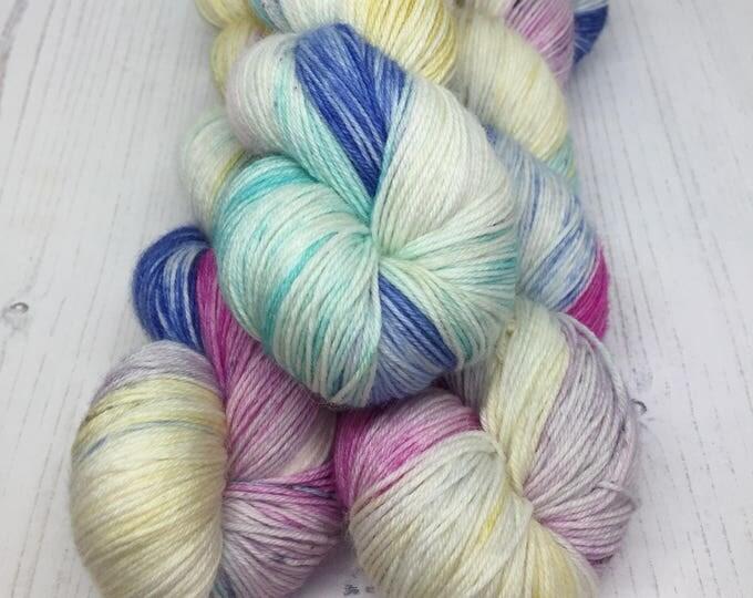 MAINE - 100grams 75/25% Merino and Nylon  Superwash merino  4 ply wool