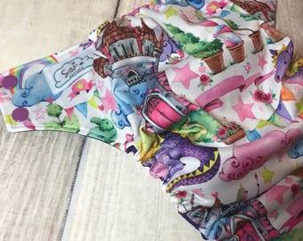 Castle and Dragon AI2 cloth diaper