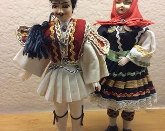 Eastern European Dolls, Male and Female