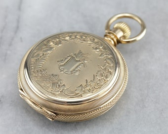 Antique Elgin Pocket Watch, Hunters Pocket Watch, Victorian Watch, Watch Collector F698WQ54-N