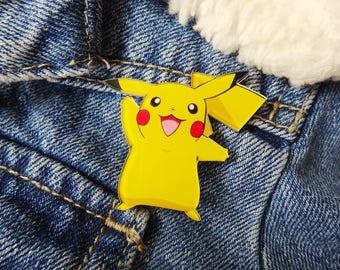 Pokemon 90s Pikachu Nintendo Gameboy Ash Ketchum Pin Badge