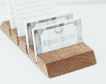 Business Card Stand / Card Holder / Small business supplies