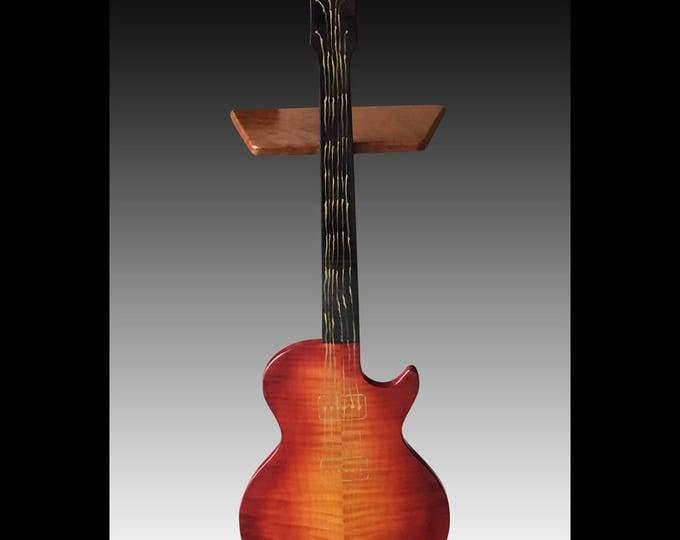 Gibson Les Paul Guitar Perching Table - Cherry Burst