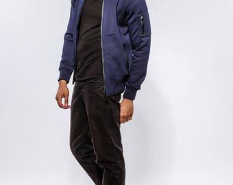 Fleece Cotton Jacket with Polar lined Interior.