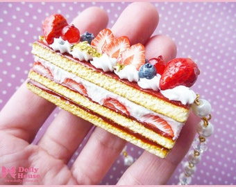Berry Cake Lolita Necklace by Dolly House