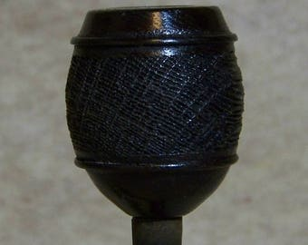 Morta Stacked Barrel Blast Kirsten Pipe Bowl only Adapter Req'd USA DW1078