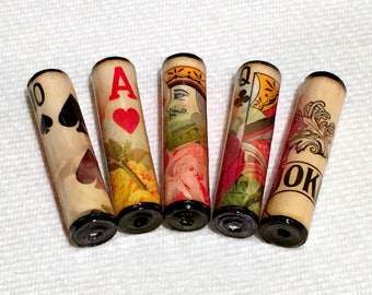 Paper Beads - Playing Cards