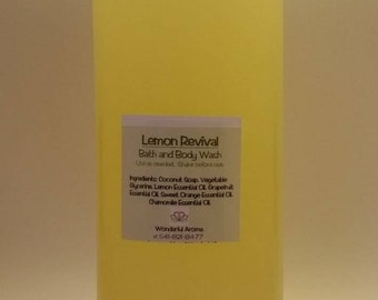 Lemon Body and Face Wash Refill