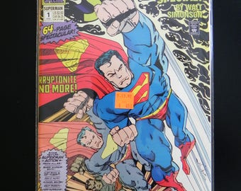 """Vintage DC Comic Book, """"Superman"""" Special by Walt Simonson, #1,1992, Doomsday is Coming!"""
