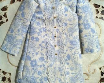 MSD blue flowers dress