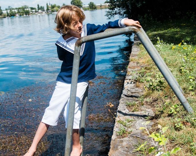 Sailor Suit EGON - Navy Suit  Traje de marinero - Traditional boys outfit