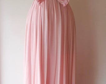 1960s Pink Gown
