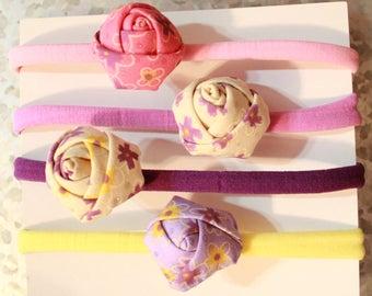 Rosette headbands