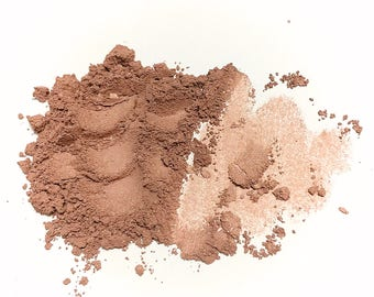 SPICED CIDER Natural Mineral Face Color - Titanium Free Cheek or Eye Color - Gluten Free Vegan Makeup
