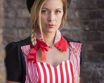 Chapeau Haut de forme steampunk, thème Alice